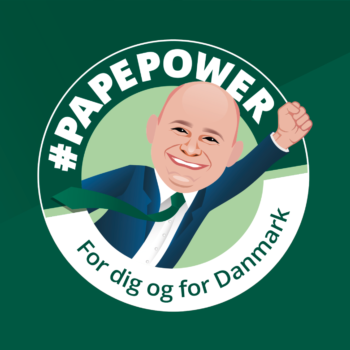 #PAPEPOWER badge